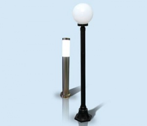 LED lamp for garden and park